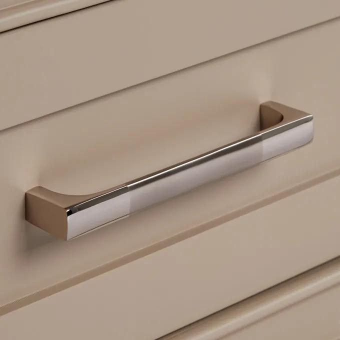 Brushed Nickel Pull Detail