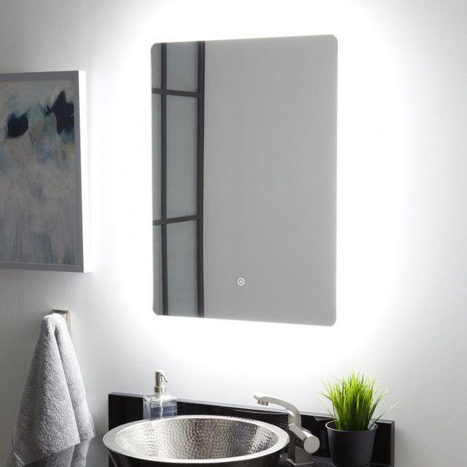 Fleming Lighted Mirror with Tunable LED