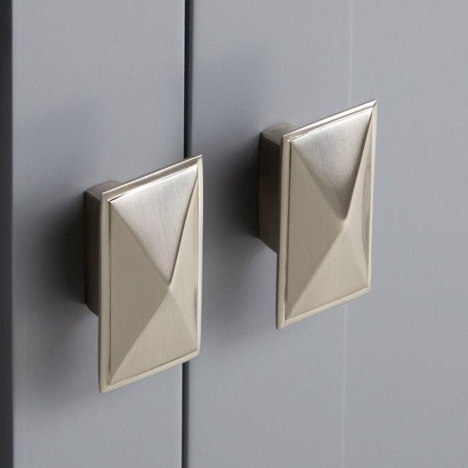 Brushed Nickel Knob