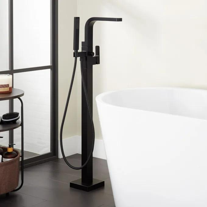 Hibiscus Freestanding Tub Filler