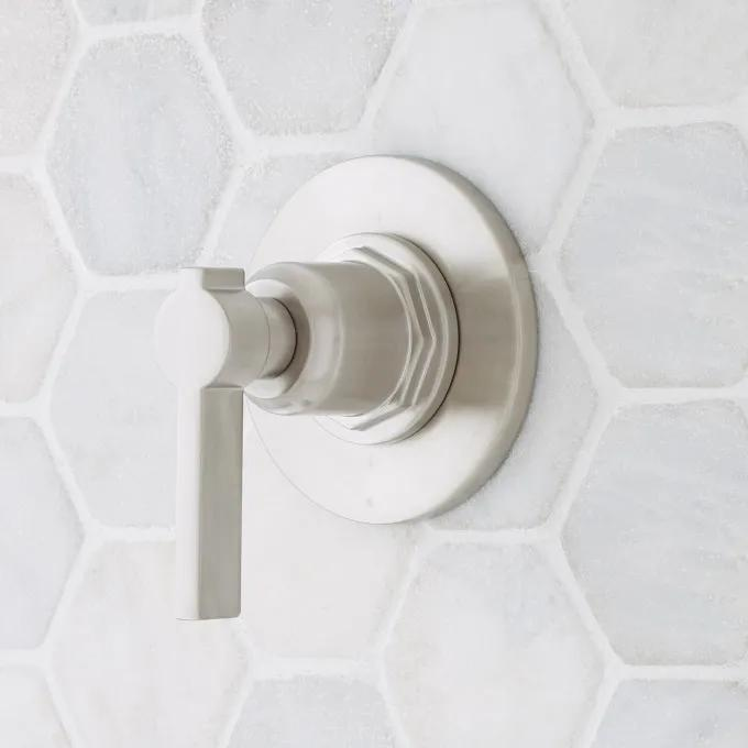 Greyfield In-Wall Shower Diverter - Brushed Nickel