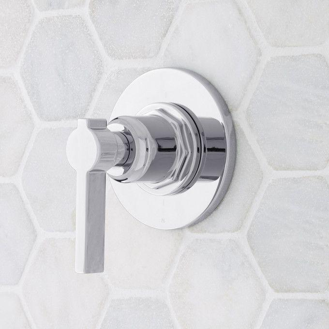 Greyfield In-Wall Shower Diverter - Chrome