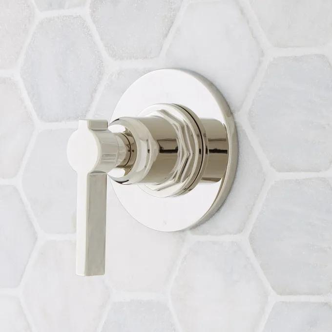 Greyfield In-Wall Shower Diverter - Polished Nickel