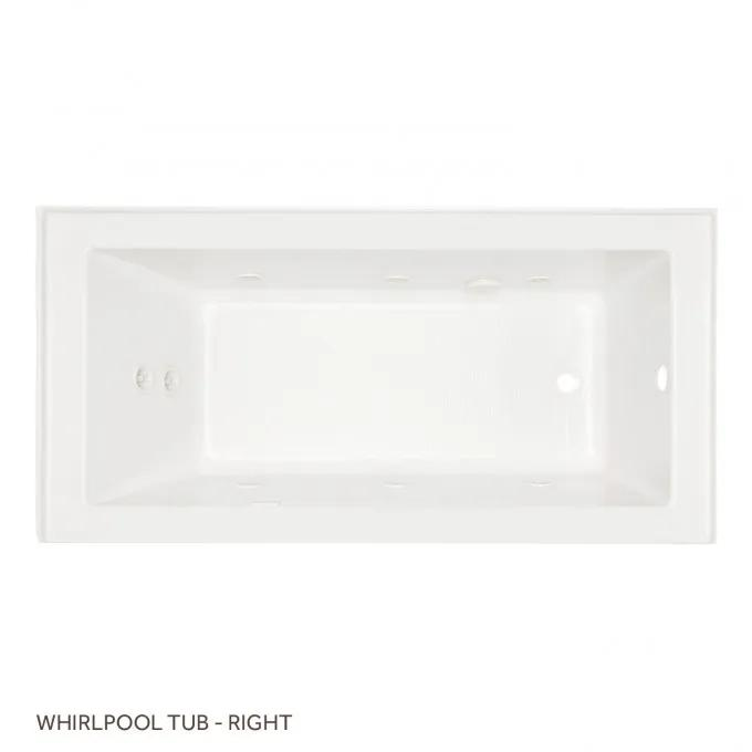 Top - Whirlpool Tub Right