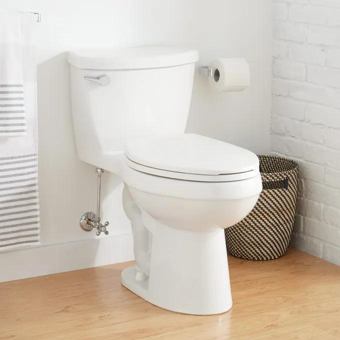 Bradenton One-Piece Elongated Toilet - White