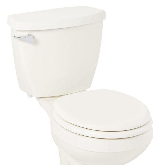 Traditional Slow-Closing Toilet Seat - Round Bowl