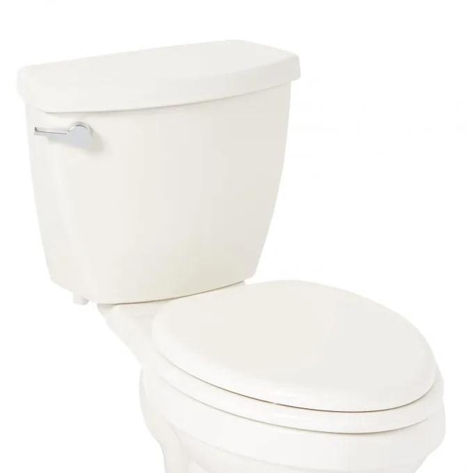 Traditional Slow-Closing Toilet Seat - Elongated Bowl