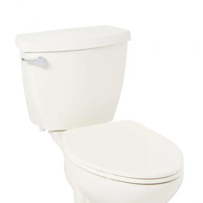 Contemporary Ultra Slim Slow-Closing Toilet Seat - Elongated Bowl