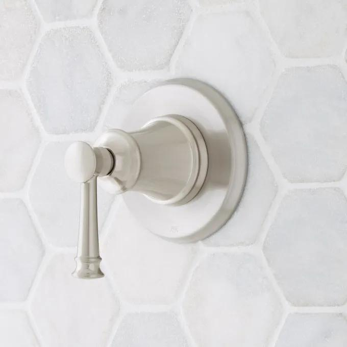 Beasley In-Wall Shower Diverter - Brushed Nickel