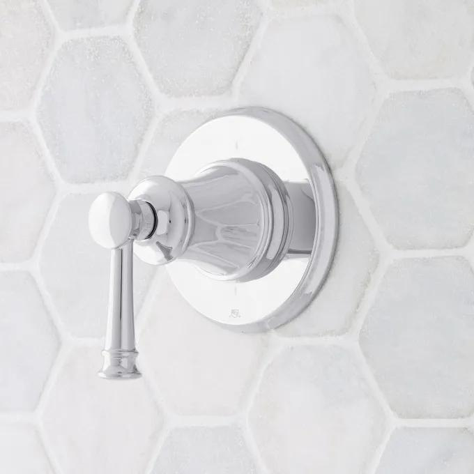 Beasley In-Wall Shower Diverter - Chrome