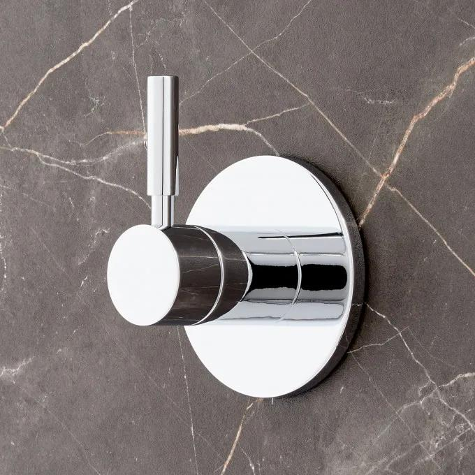 Edenton In-Wall Shower Diverter - Chrome
