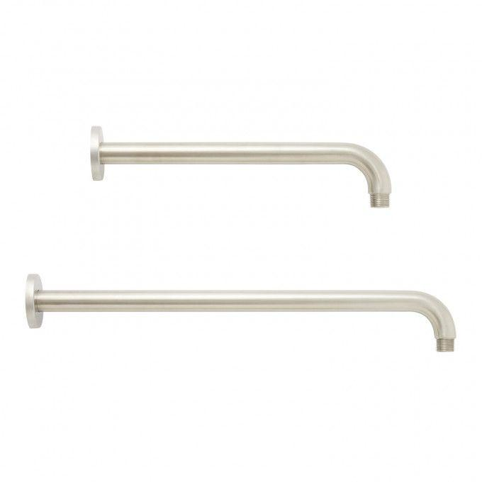 Shower Arm Sizes - Brushed Nickel