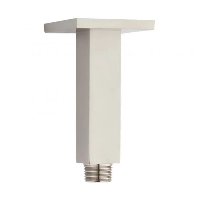 Square Ceiling-Mount Shower Arm - Brushed Nickel