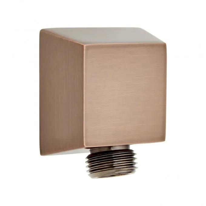 Contemporary Square Water Supply Elbow for Hand Shower - Oil Rubbed Bronze
