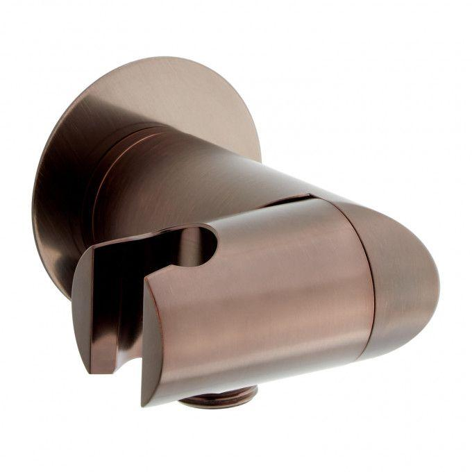 Swivel Water Supply Elbow and Bracket for Hand Shower - Oil Rubbed Bronze