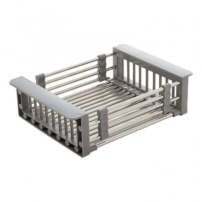 """Optional Workspace Plastic Rinse Basket  (Extends to 18-1/2"""")"""