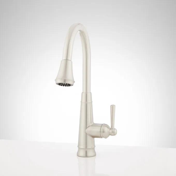 Hartfield Single-Hole Pull-Down Kitchen Faucet