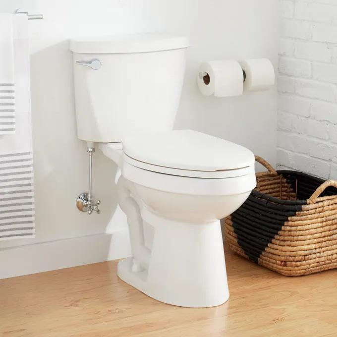"""Bradenton Two-Piece Elongated Toilet with 10"""" Rough-In - 16"""" Bowl Height"""