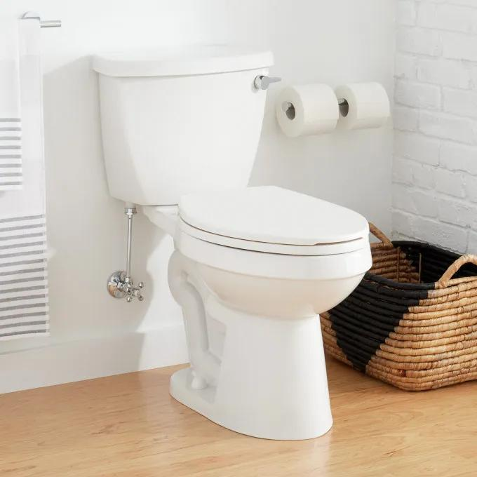 """Bradenton Two-Piece Elongated Toilet with 12"""" Rough-In - 16"""" Bowl Height"""