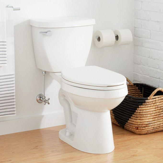 """Bradenton Two-Piece Elongated Toilet with 14"""" Rough-In - 16"""" Bowl Height"""
