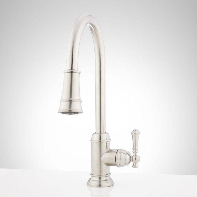 Amberley Pull-Down Spray Kitchen Faucet