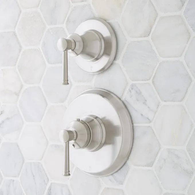 Beasley Thermostatic Shower and Volume Control Trim