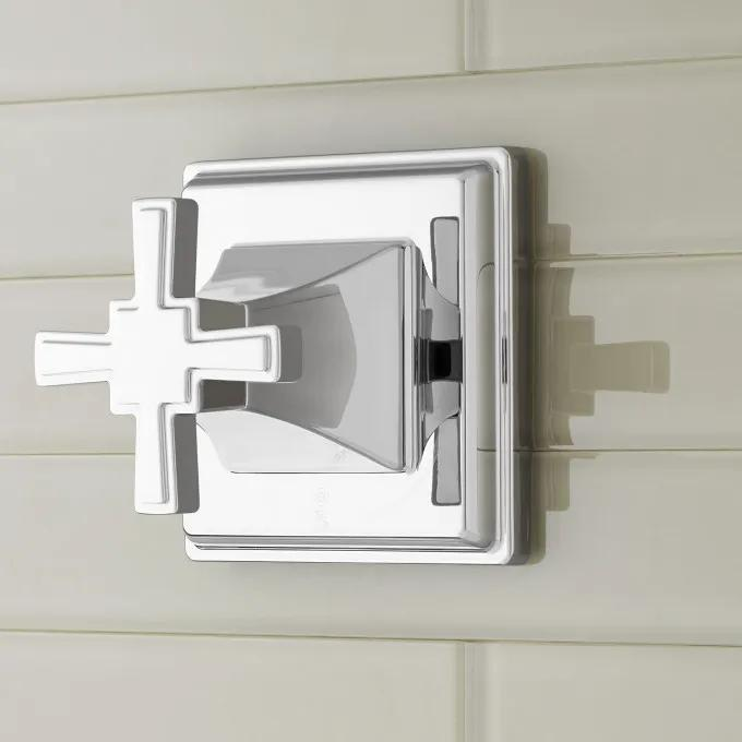 Pinecrest In-Wall Shower Volume Control with Cross Handle