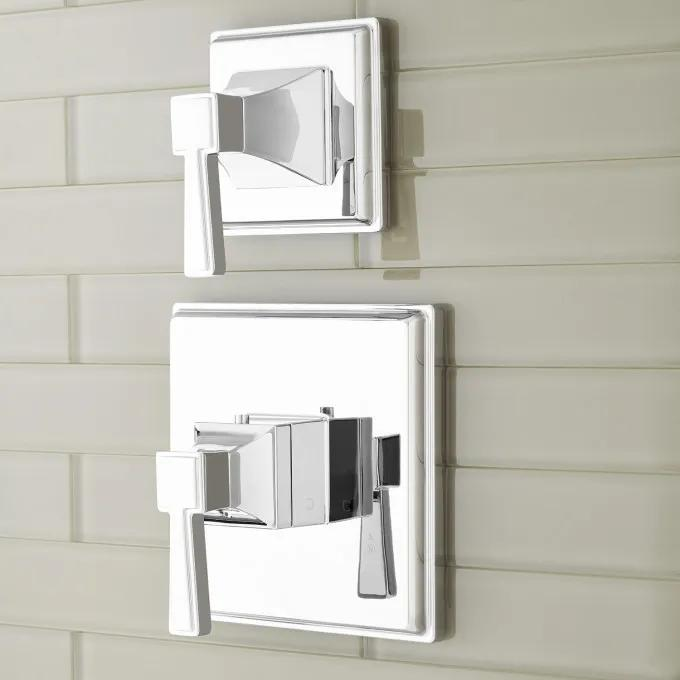 Pinecrest Thermostatic Shower Valve with Volume Control - Lever Handles