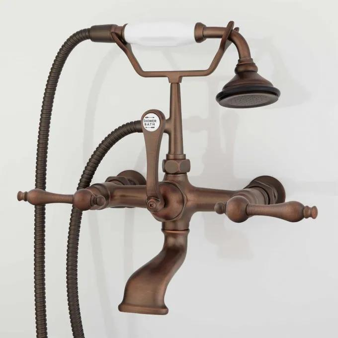 Wall-Mount Telephone Faucet & Hand Shower - Oil Rubbed Bronze