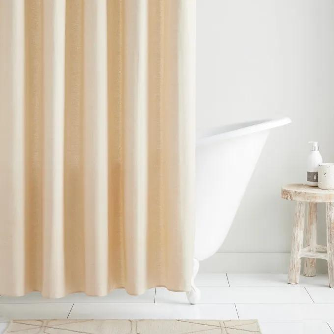 Cotton Shower Curtain - Natural