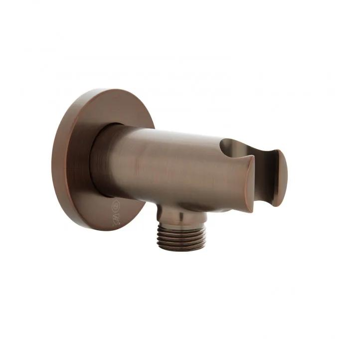 Traditional Water Supply Elbow for Hand Shower with Cradle - Oil Rubbed Bronze