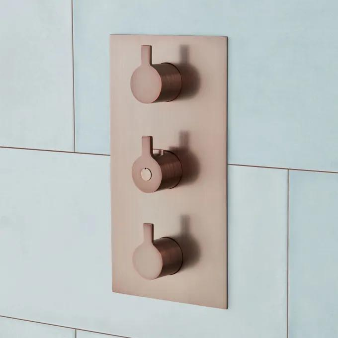4-Way Thermostatic Valve - Oil Rubbed Bronze