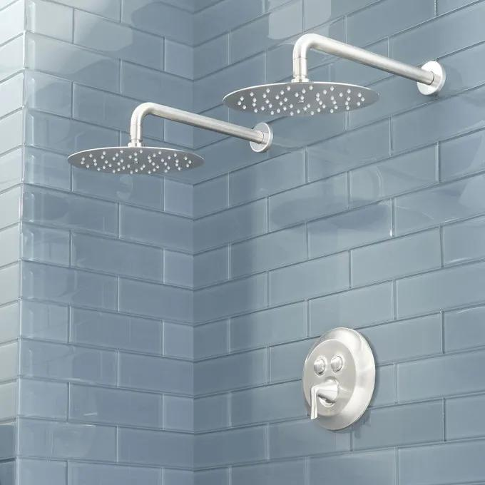 Provincetown Simple Select Dual Shower Head Shower System