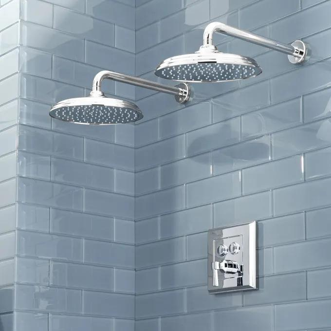 Pinecrest Simple Select Dual Shower Head Shower System - Lever Handle