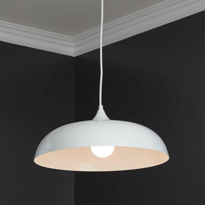 Blackthorne 1-Light Pendant - Gloss White