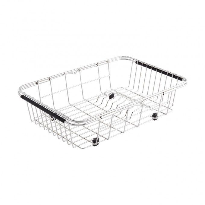 """Metal Rinse Basket (Extends to 20-1/2"""")"""