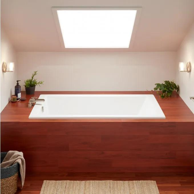 "60"" x 36"" Sitka Acrylic Drop-In Soaking Tub"