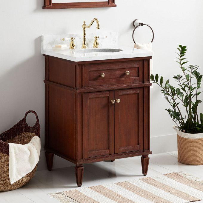 "24"" Elmdale Vanity for Undermount Sink - Antique Brown"