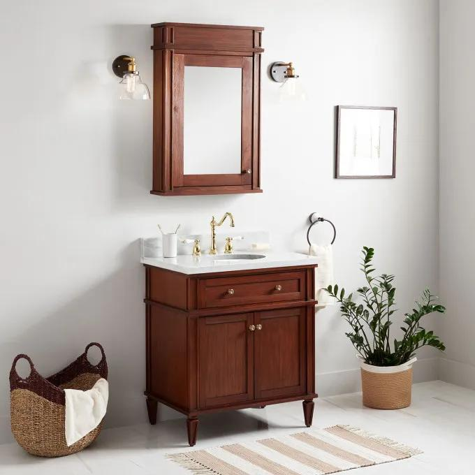 with Optional Medicine Cabinet