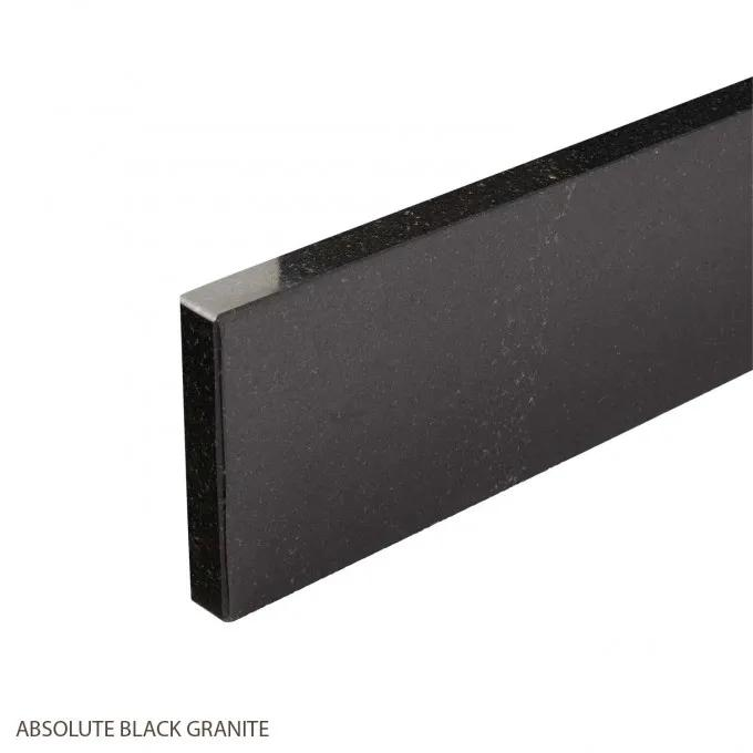 Absolute Black Granite Backsplash