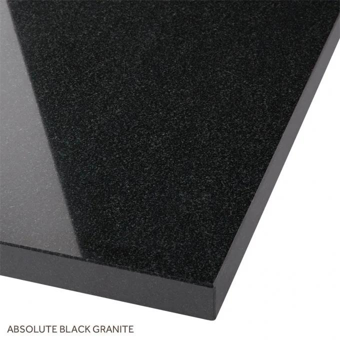 Absolute Black Granite Top Option