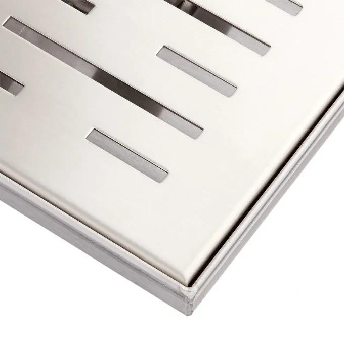 Brushed Stainless Steel - Detail