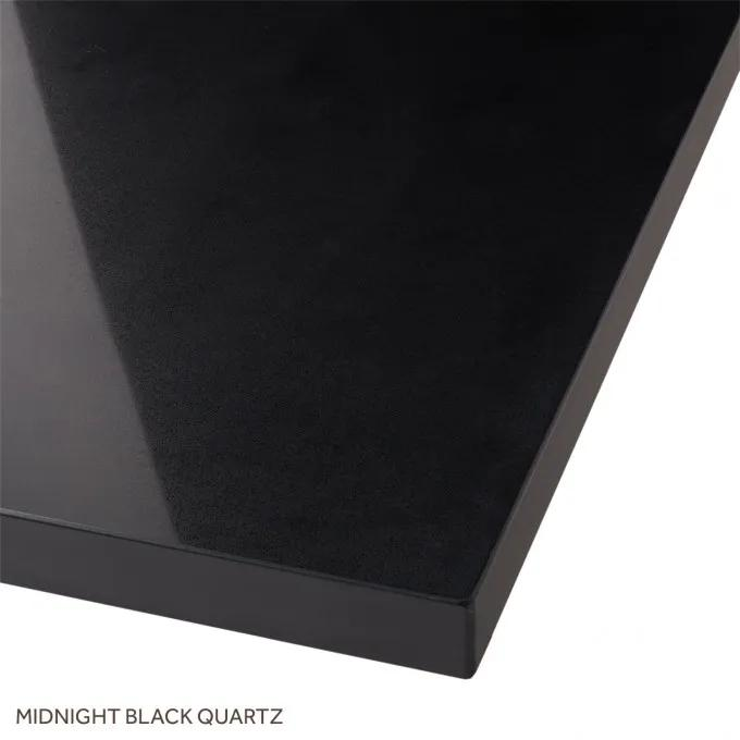 Midnight Black Quartz