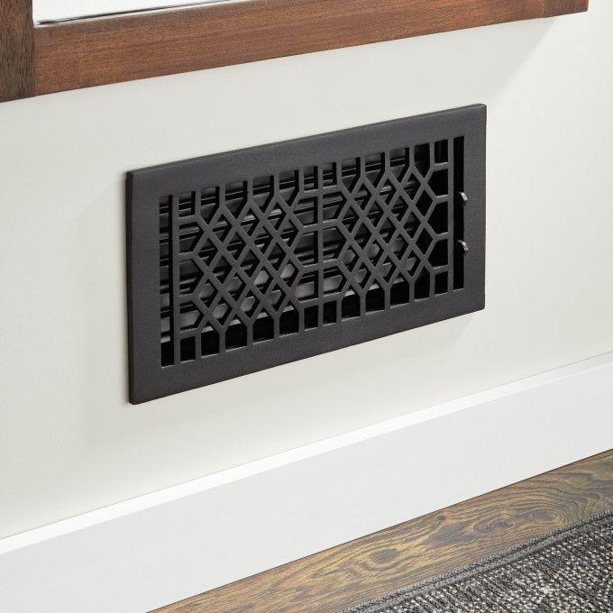 Antique Style Cast Iron Wall Register