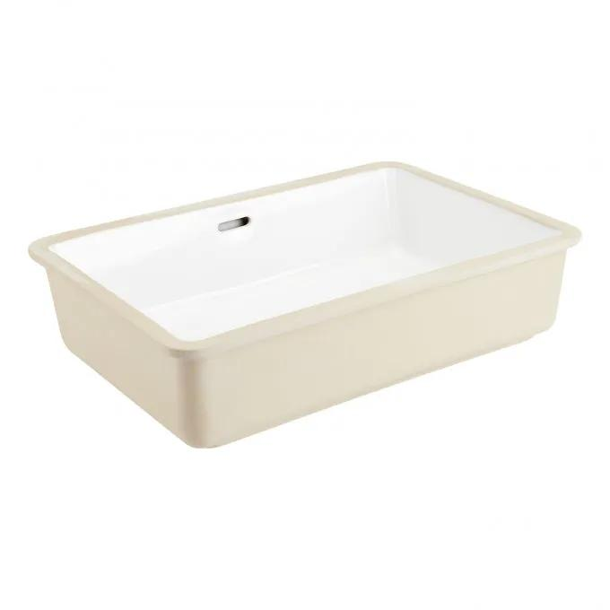"21"" Destin Rectangular Porcelain Undermount Bathroom Sink"