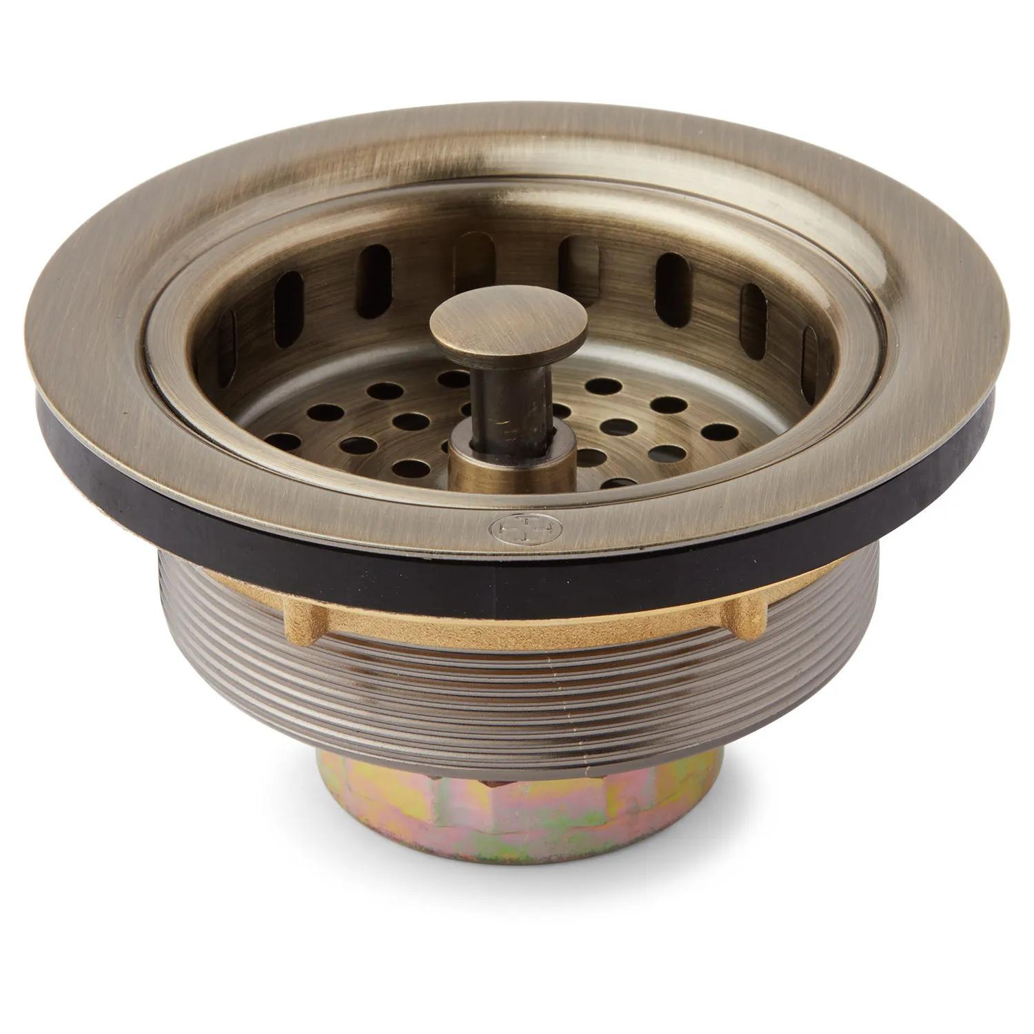Strainer Basket With Lift Stopper 3 1 2