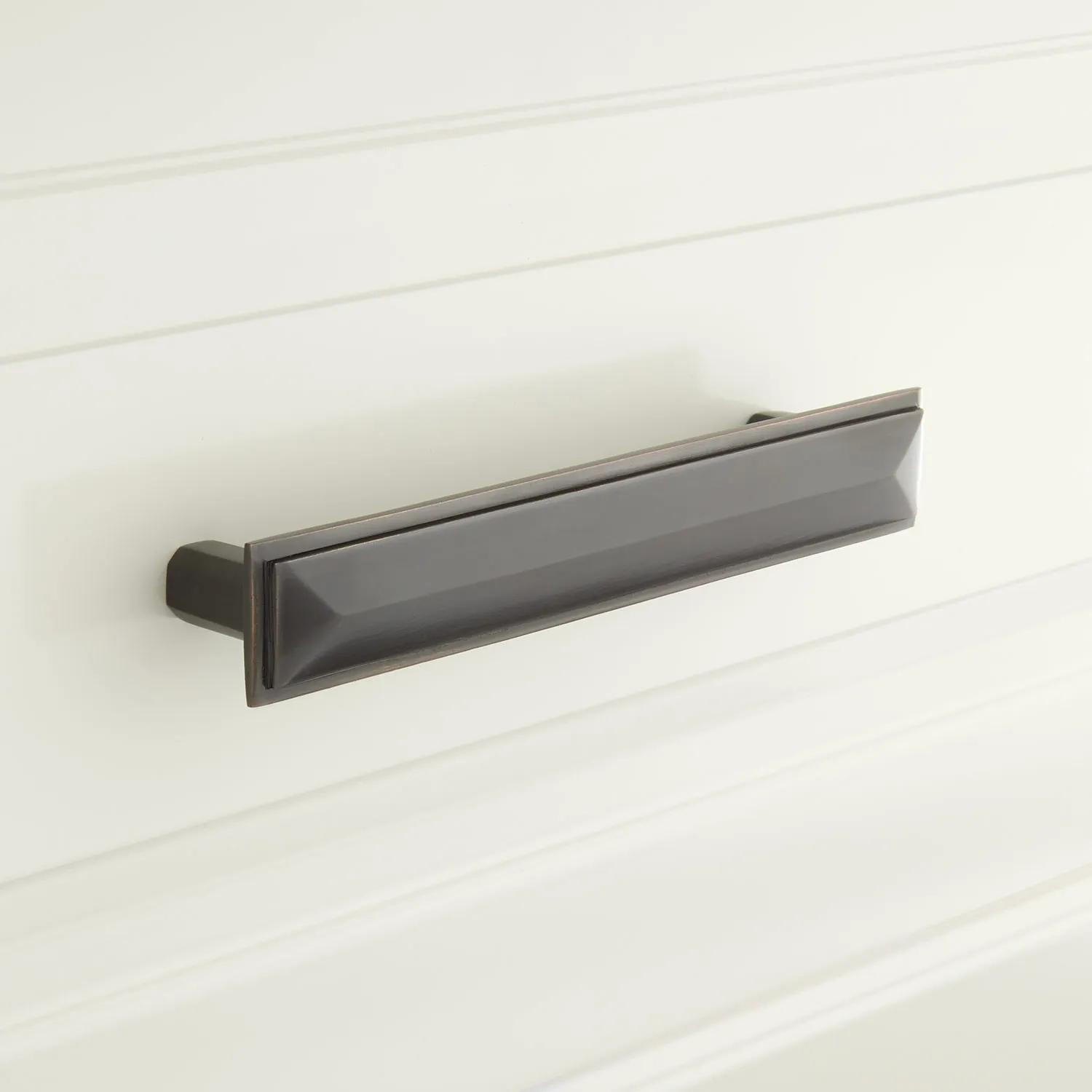 Bresnick Solid Bronze Cabinet Pull Hardware