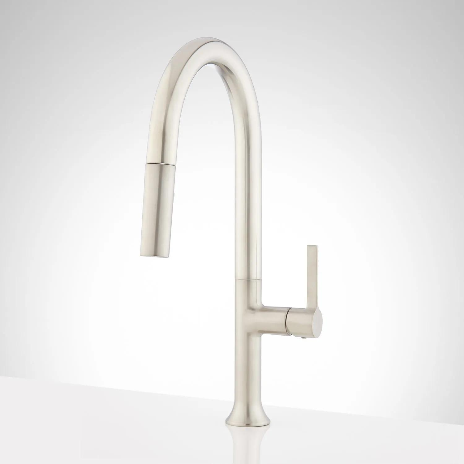 Bok Single Hole Pull Down Kitchen Faucet