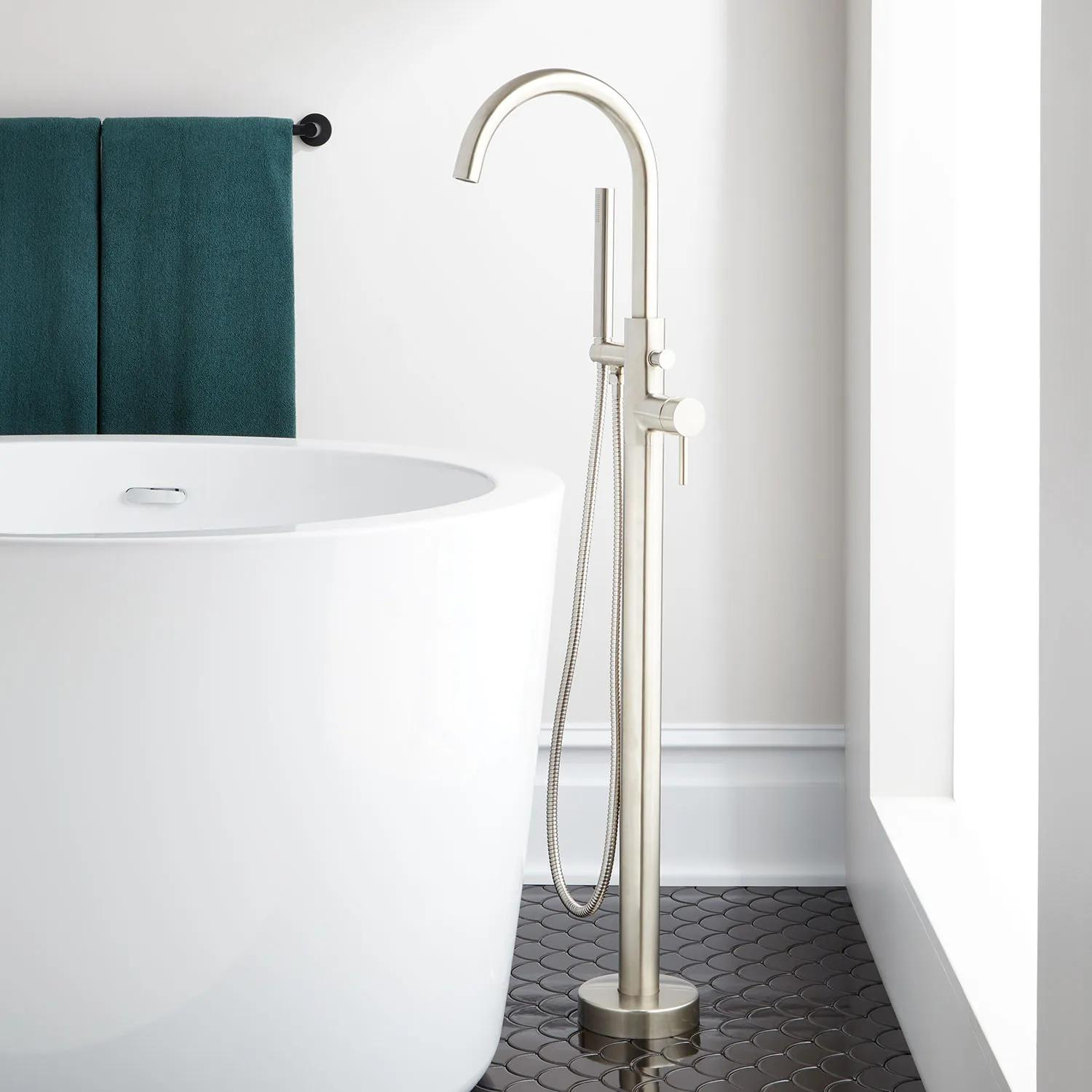 Lethe Freestanding Tub Faucet Bathroom