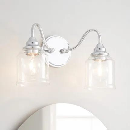 2 Light Bathroom Vanity Lighting Signature Hardware